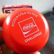 NEW JAPAN  2006  LIMITED EDITION COCA COLA  CHALLENGE  YO YO