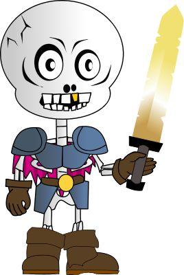 Image for skeleton cartoon clip art   Monster Clip Art Free ...