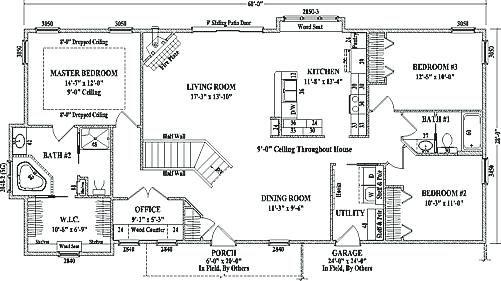 Rambler Open Floor Plans Best Rambler Remodel Ideas On Ranch House Floor Plan Open Plans For Homes Floor Plan Floor Plans Ranch Floor Plans Ranch House Remodel