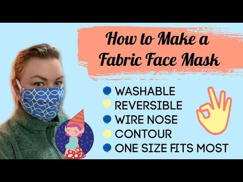 Diy Fabric Face Mask In 2020 Face Mask Nose Contouring Face