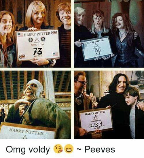 Pin Von Meow Auf Harry Potter Harry Potter Lustig Hinter Den Kulissen Lustig