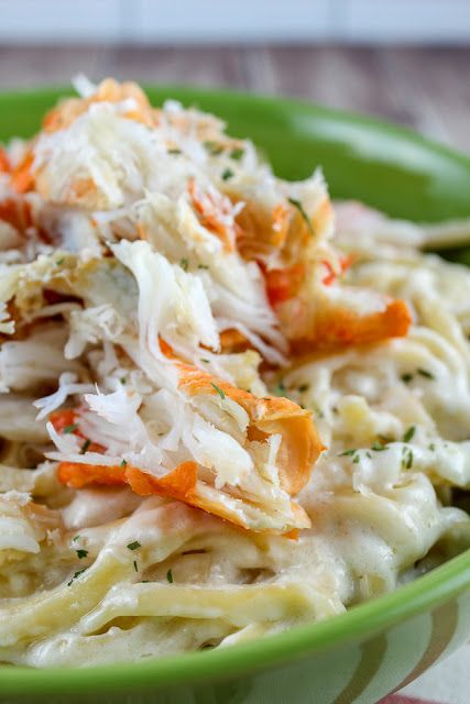 Red Lobster's Crab Alfredo