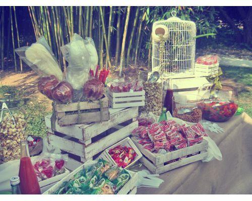 Resultado de imagen para mesa de dulces mexicana