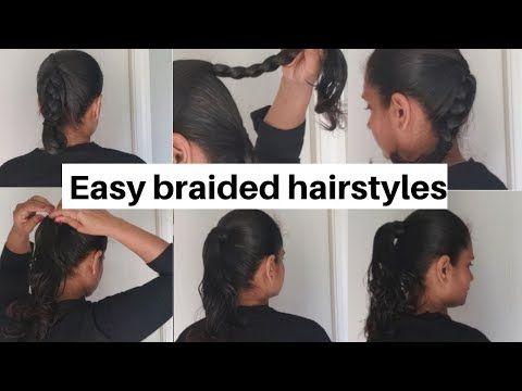 Top 3 Heavy Oily Hair Braided Hairstyles Easy Oily Hair Hairstyles Braid After Heavy Hair Oiling Braided Hairstyles Easy Braided Hairstyles Easy Hairstyles
