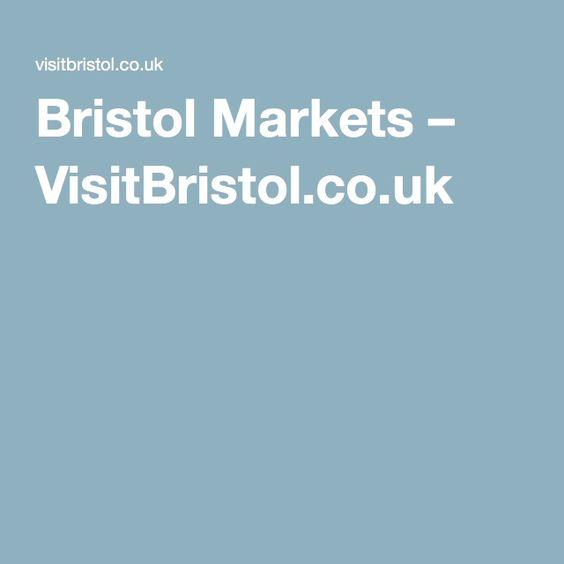 Bristol Markets – VisitBristol.co.uk