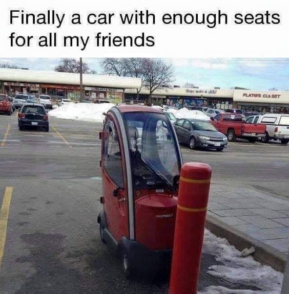 Finally a car of culture