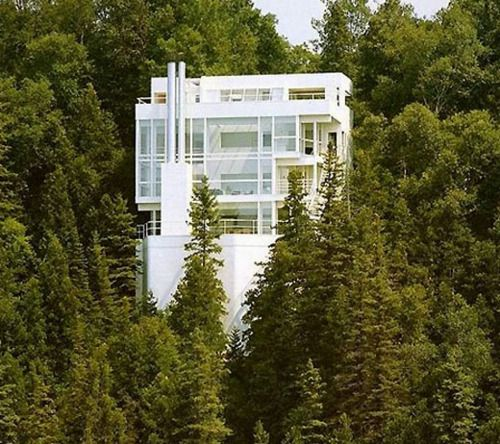 One of my favorite houses, by Richard Meier