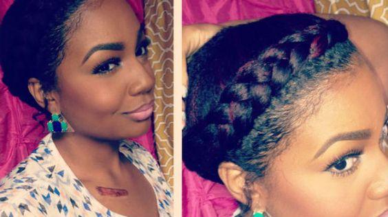 3 Goddess Braids Hairstyles: 21 Most Popular Natural Hairstyles