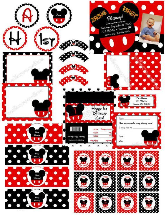 printable party package