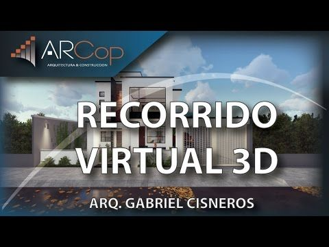 Recorrido Virtual 3d Vivienda Familia Freire Travez Youtube Recorrido Virtual Planos De Casas Casas De Una Planta