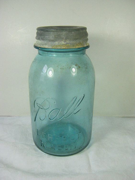 vintage kitchen storage jars vintage blue canning jar antique circa 1920 s kitchen 6833