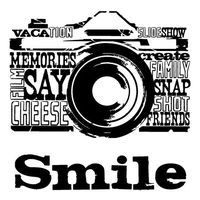 Camera Word Art