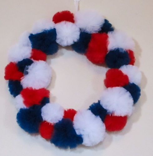 Handmade-Patriotic-Red-White-and-Blue-Tulle-Wreath-4th-of-July-Decoration
