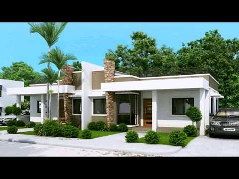 House Design With Concrete Roof Youtube Duplex House Plans Duplex House Modern House Plans