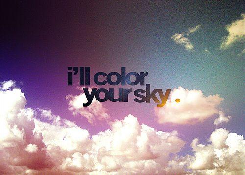 color my sky.