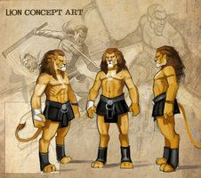 lion concept sketch by *nightrhino on deviantART