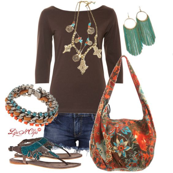 Earthy, created by lipsnclips on Polyvore