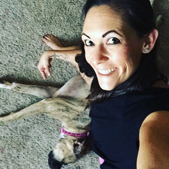 Trying to do some yoga today (which really isn't my jam but I know I need it) and this dog keeps trying to join in with me . Mostly she just got in my way and messed up my flow.   Today is a rest day for me so I opted for some active recovery to keep my body moving. Ahh... Back at it tomorrow morning!!