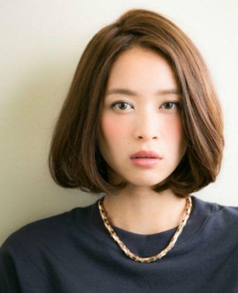 Giới thiệu kiểu tóc ngắn cúp phồng ngang đẹp cho các bạn nữ