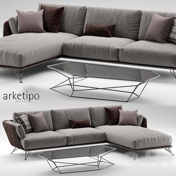 Arketipo morrison sofa 2 Модели Pro. Диваны, кресла