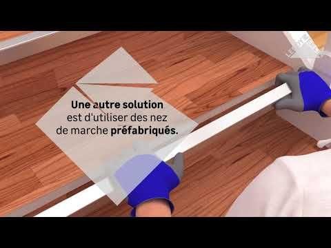 Videotuto Comment Poser Du Vinyle Ou Lino Sur Un Escalier Comment Escalier Poser Vinyle Https T Comment Renover Un Escalier Renover Escalier Escalier