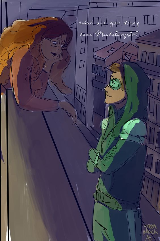 Jaded Turtle and Alya by peachgreenteelemonad (inspired by @thelastpilot's The Weight of Jade)