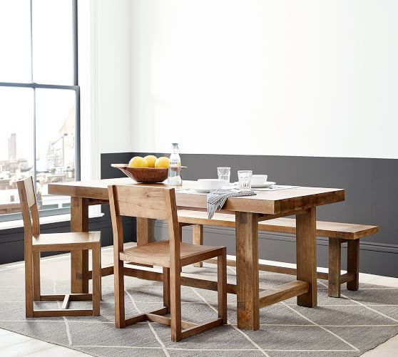 Reed Extending Dining Table In 2020 Dining Table Extendable Dining Table Simple Dining Table
