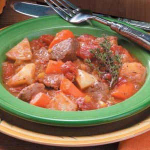 Slow cooker beef stew.Very easy and simple recipe of beef stew