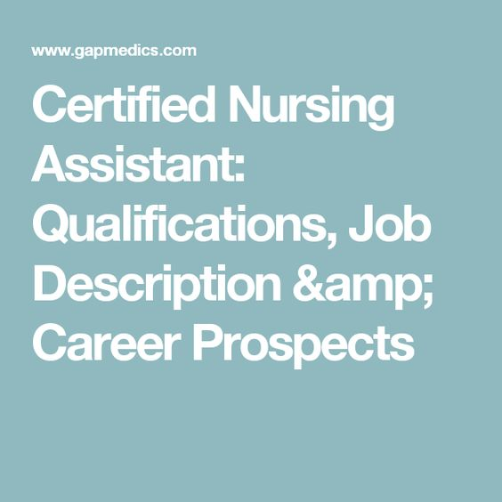 Job Duties Of Cna Job Description  Certified Nursing Assistant  Irf Prn  Stmary