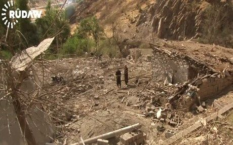 ERBIL, Kurdistan Region - Turkish warplanes carried out a number of airstrikes Monday night in the mountains of Sidakan, targeting Kurdistan Workers Party (PKK) positions, and putting the lives of many local villagers in danger.  According to the mayor of Sidakan, Karwan Karim Khan, two warplanes...
