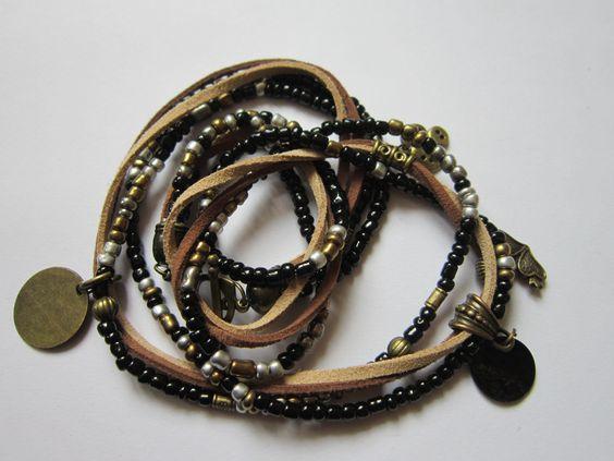 Bracelet 3 tours/collier