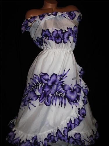 DJ Vtg Royal Havaii Aloha Gorgeous Dress