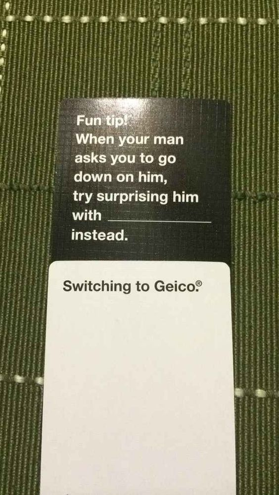 This person who knows the value of saving 10%. | 14 Cards Against Humanity Players Who Win At Life