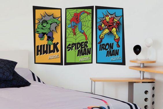 Adesivo de Parede Marvel Comics