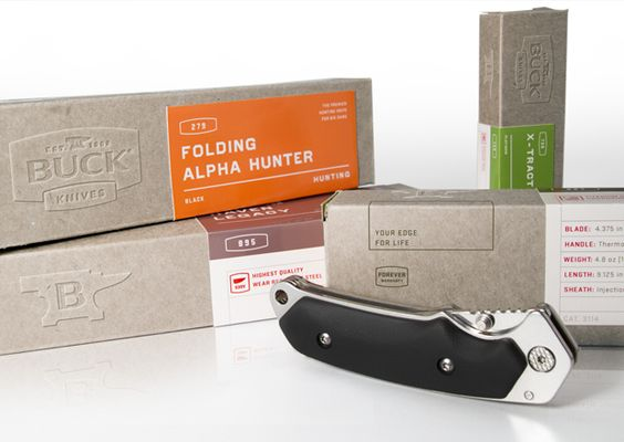Buck Knives Box System by Mint Design