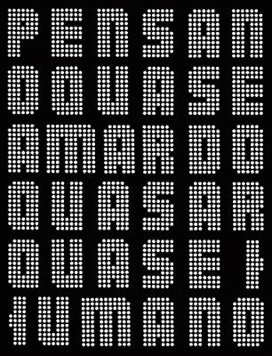 O quasar 1973- Cadernos Afetivos: Augusto de Campos e Julio Plaza