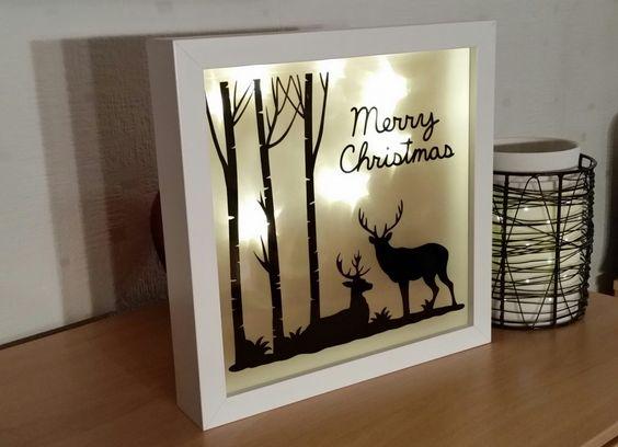Ribba Rahmen Merry Christmas