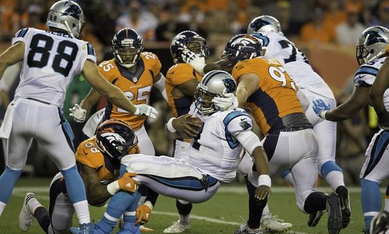 NFL makes statement about hits on Panthers QB Cam Newton = Carolina Panthers quarterback Cam Newton was under some serious pressure during Thursday's 2016 opener against the Denver Broncos. And as a result, he took multiple hard hits to the head, but managed to.....