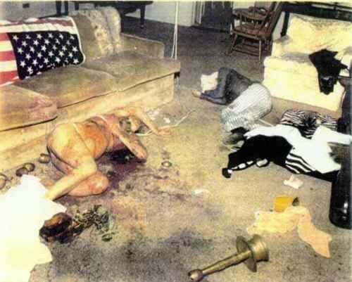 Charles manson crime scene charles manson murders crime scene image