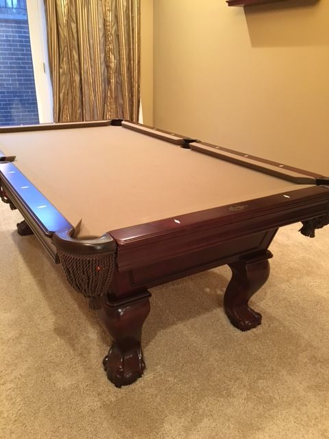 Imperial Billiards Lincoln Pool Table 7u0027 Sold | Sold Used Pool Tables  Billiard Tables Over Time | Pinterest | Pool Table, Billiard Pool Table And  Billiards ...