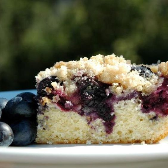 Blueberry Buckle by Lily Meringue