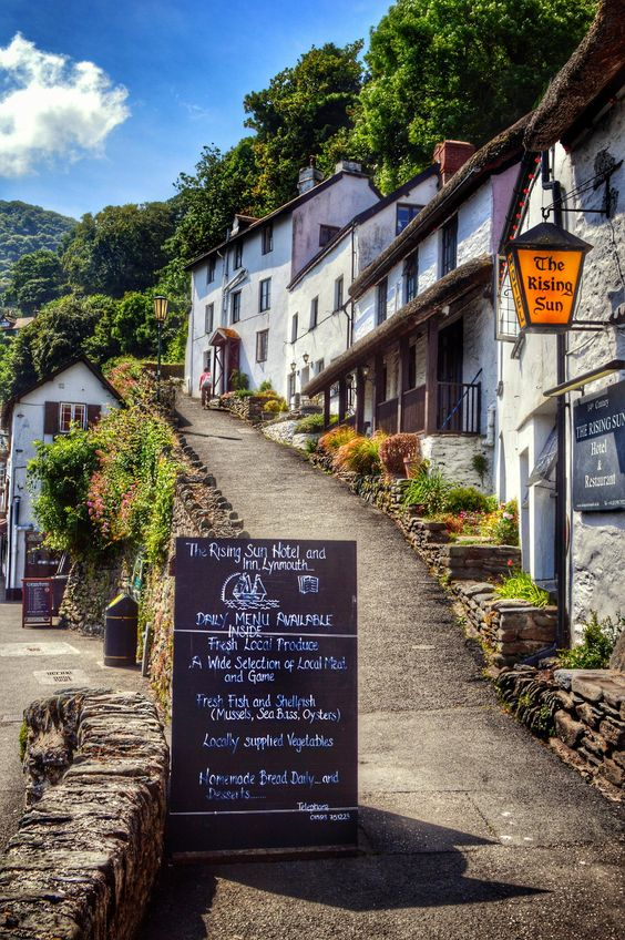 ~~A Look at Lynmouth.... | a coastal path in a seaside town across the county border into Devon, England, UK by Jenny Parry~~