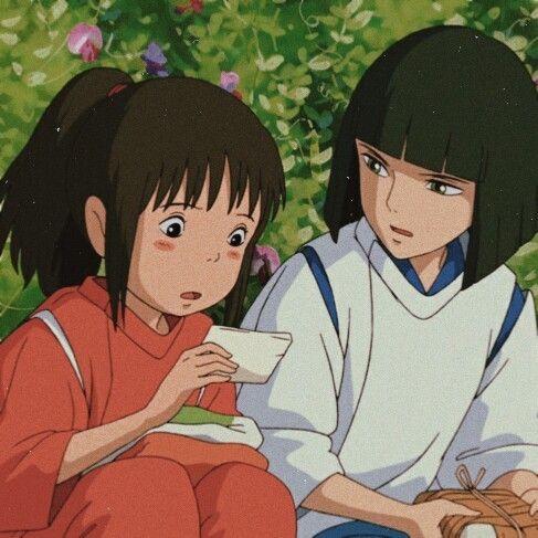 Anime Icons Spirited Away Icons Please Like Reblog In 2020 Ghibli Artwork Aesthetic Anime Ghibli Art
