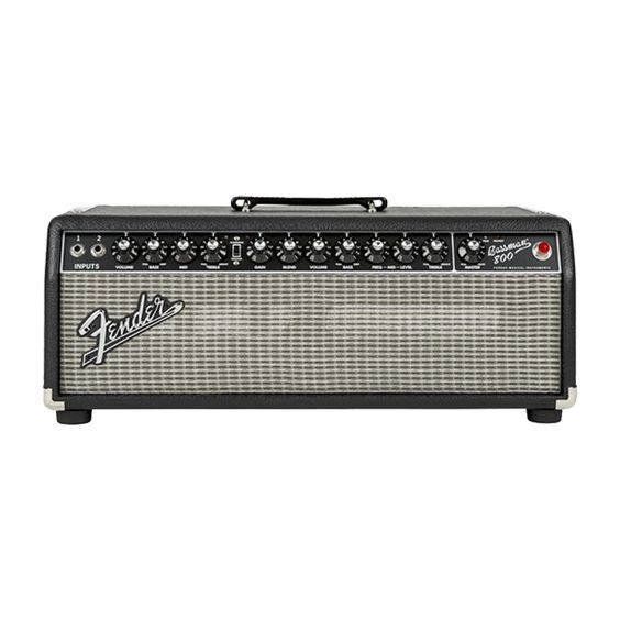The Fender Bassman 800 HD head combines classic Fender bass sound with modern power. It features two versatile channels (vintage and OD), along with 800 watts of power and a line out (XLR). This Class