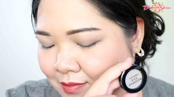Contoh Warna Colour Box Mono Eyeshadow - Shimmering Taupe