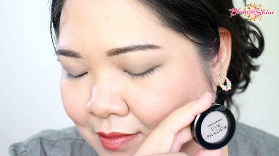 Contoh Warna Colour Box Mono Eyeshadow - Shimmering Taupe