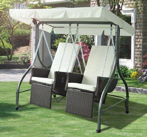 2 seater rattan outdoor garden patio swinging hammock chair bench bed lounger furniture 2 seater rattan outdoor garden patio swinging hammock chair bench      rh   pinterest