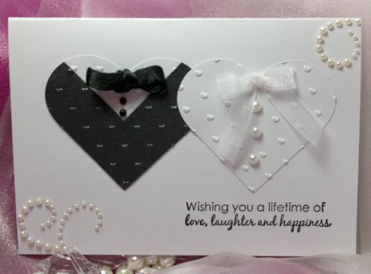Handmade Wedding Card Cake Ideas