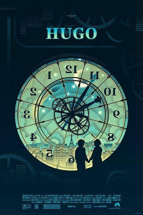 Pin By Carri 301 On Movie Poster Art Hugo Movie Mondo Posters Alternative Movie Posters