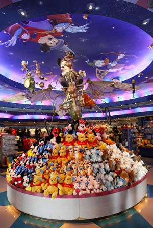 Check out World of Disney in the Disney Village.  thedreamtravelgroup.co.uk